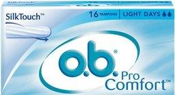 ob tampons procomfort light flow 16st