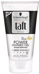 taft gel power invisible 150 ml