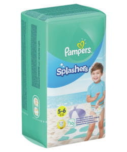 Pampers splashers 5-6  10 stuks
