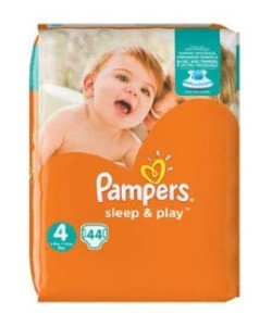 Pampers luiers sleep en play 4 - 44st