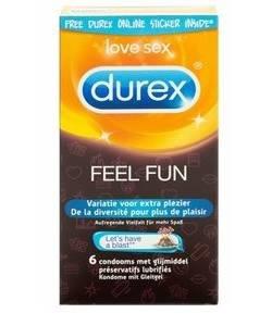 Durex condooms Feel Fun 6st