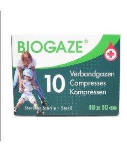 Biogaze verbandgazen 10st 10X10