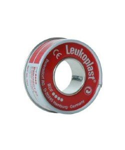 leukoplast hechtpleister smal 5 m bij 1,25 cm