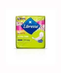 libresse maandverband ultra thin long