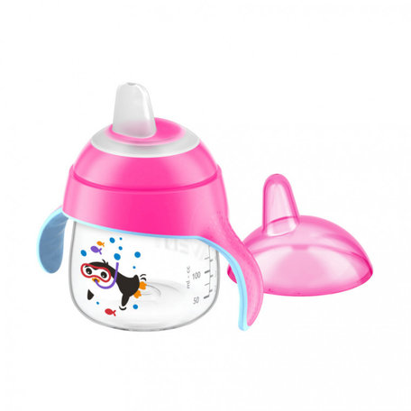 Philips Avent tuitbeker roze 200 ml