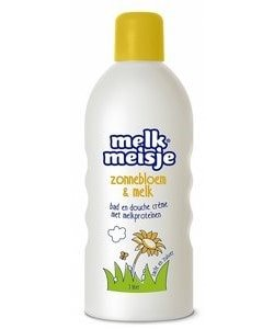 Melkmeisje bad en douche zonnebloem 1000ml