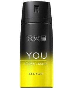 Axe deospray you clean fresh 150 ml