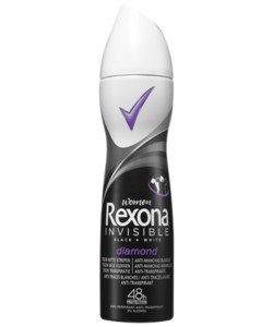 rexona deo spray invisible diamond 150 ml