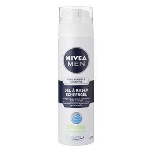 Nivea for men scheergel sensitive 200ml