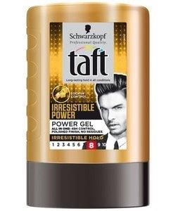 Taft gel irresistible power tottle 300ml
