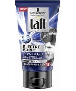 Taft gel electro force 150ml