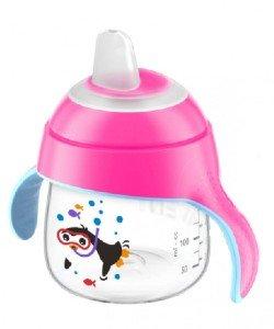 Philips Avent tuitbeker roze 200 ml