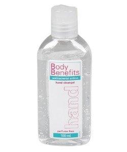 Body Benefits desinfecterende handgel 100 ml