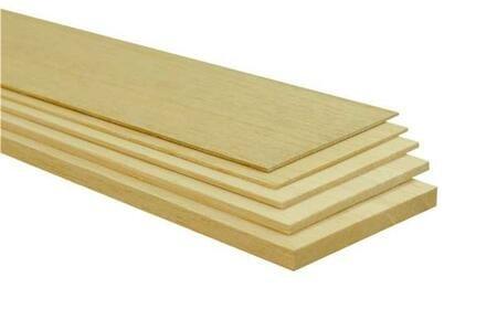 Balsa planken 5 mm