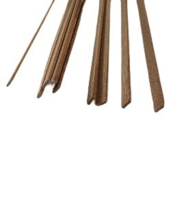 Mahonie  latje 1.5 x 5 mm