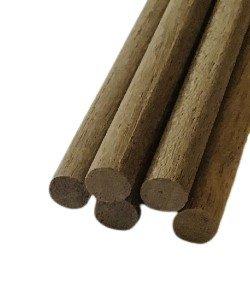 Rondhout noten 4 mm