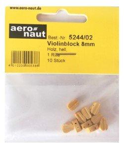 Aeronaut vioolblok 8 mm 10st