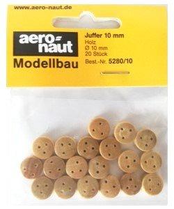 Aeronaut jufferblok 10 mm 20st