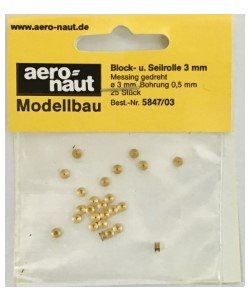 Aeronaut katrolschrijf 3 mm 25st