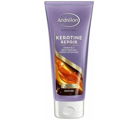 andrelon haarmasker 1 minuut keratine repair 180 ml