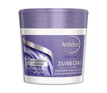 Andrelon haarmasker 250ml zilver care