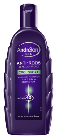 andrelon shampoo for men cool sport 300 ml