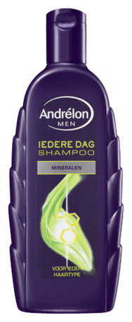 andrelon shampoo for men iedere dag 300 ml