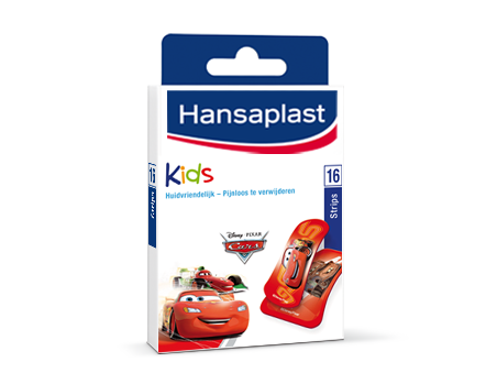 hansaplast pleisters kids cars 16 strips