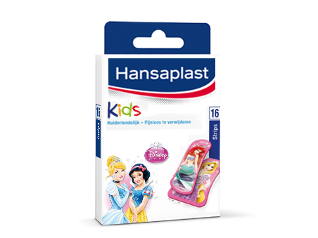 hansaplast pleisters kids princess 16 strips