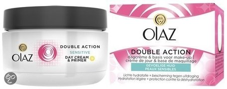 olaz essentials double action dagcreme gevoelige huid