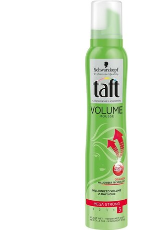 taft mousse volume mega strong 200 ml