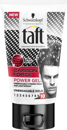taft gel carbon force 150 ml