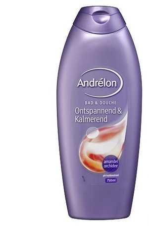 andrelon bad en douche ontspannend & kalmerend 750 ml