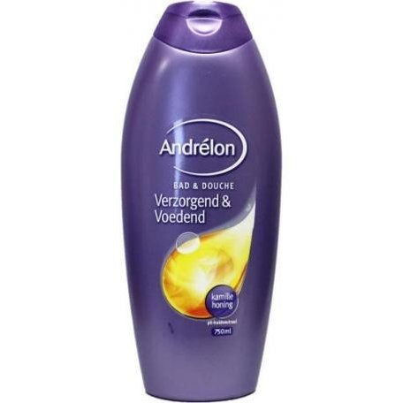 andrelon bad en douche verzorgend & voedend  750 ml