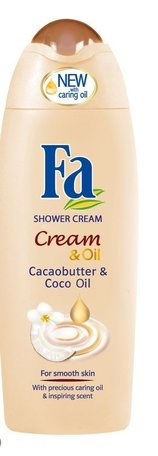 fa douche & lotion cream & oil cacaobutter 250 ml