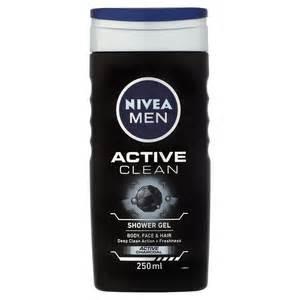 nivea douche for men active clean 250 ml