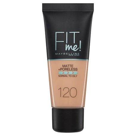 Maybelline foundation matte fit 120