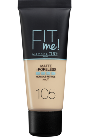 Maybelline foundation matte fit 105
