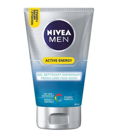Nivea for men face wash 100ml energy