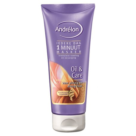 Andrelon haarmasker 1min oil & care