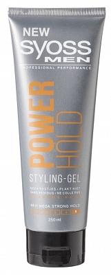 Syoss men gel power hold styling