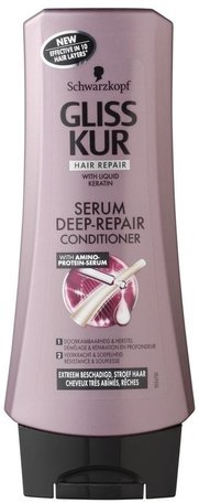Gliss kur serum deep repair conditioner