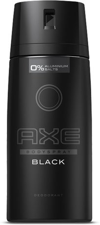 axe deo spray black