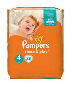 Pampers luiers sleep en play 4 - 23st