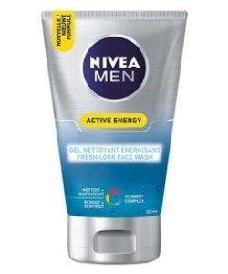 nivea for men face wash 100 ml energy