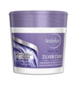 Andrelon haarmasker 250ml zilver care
