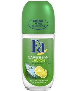 Fa deo roller 50ml Caribbean lemon