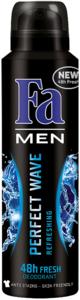 Fa deo spray 150ml men prefect wave