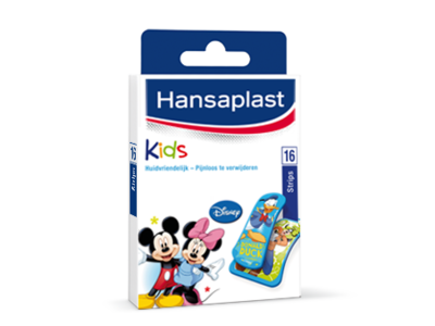 hansaplast pleisters kids mickey mouse 16 strips