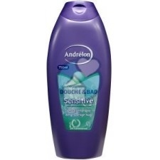 andrelon douche & bad sensitive 750 ml